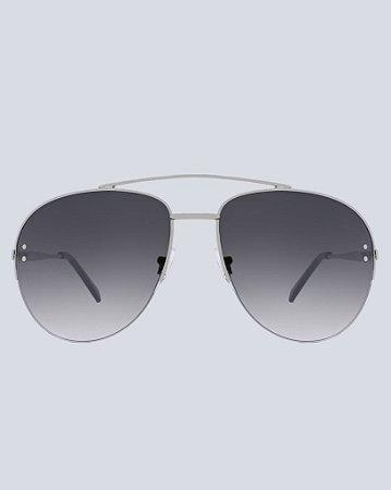 Óculos Aviador Alabama Prata