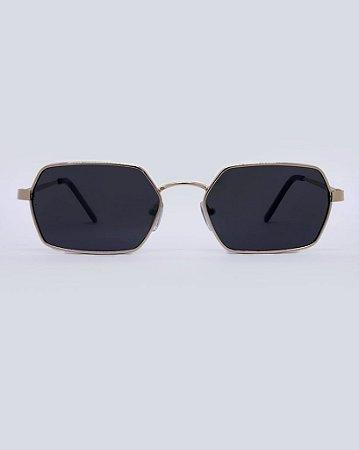 Óculos Joker Preto com Dourado