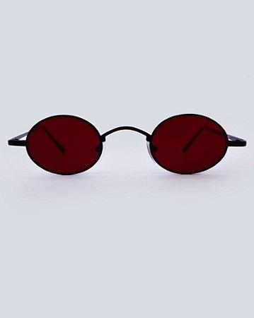 Óculos Nice Vermelho com Preto