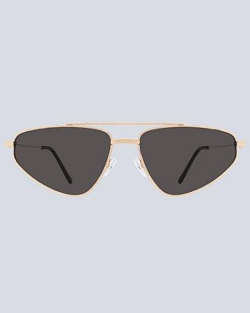Óculos South Preto com Dourado