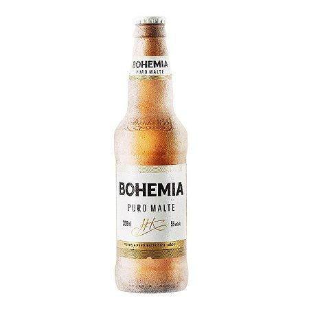 Cerveja Bohemia Puro Malte 355ml c/ 24 uni