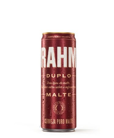 Brahma Duplo Malte Lata 350ml c/12 unidades