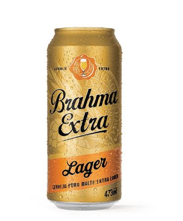 Brahma Extra Lager - Lata 473ml c/12 unidades