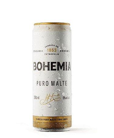 Bohemia Puro Malte Descartável - Lata 350ml c/12 unidades