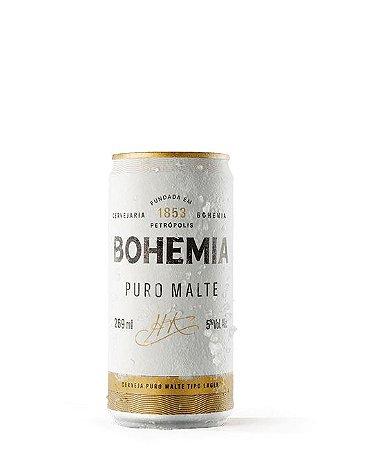Bohemia Puro Malte - Lata 269ml c/15 unidades