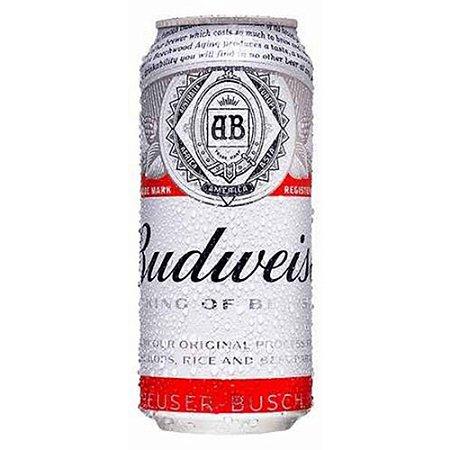 Budweiser Descartável - Lata 473ml c/12