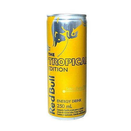 Red Bull Tropical Lata 250ml c/ 4 unidades