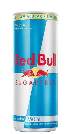 Red Bull Sugarfree Lata 250ml c/ 4 unidades
