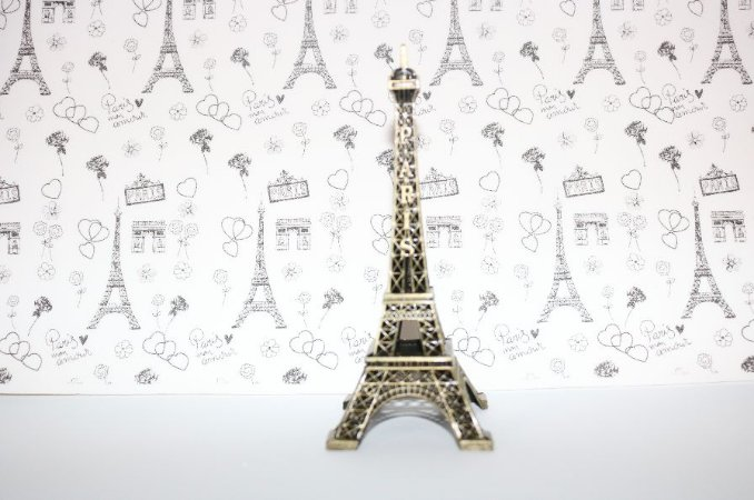 Mini Torre Eiffel decoração