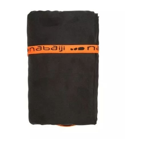 Toalha de microfibra Nabaji - Preta XG