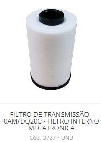 Filtro Interno da Mecatrônica 0AM/DQ200/DSG - AUDI VW
