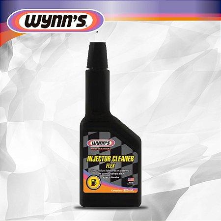 Limpa bicos injetores e sistemas de combustíveis flex (gasolina, etanol, GNV ) - Wynn´s Injector Cleaner Flex 325 ml