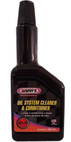 Produto para limpeza de motor automotivo (Flush) - Wynn´s Oil System Cleaner & Conditioner 325 ml