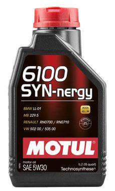 MOTUL 6100 SYN-nergy 5W30 - Gasolina, Etanol, Flex, Diesel (ACEA A3/B4)
