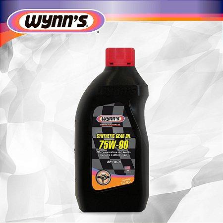 Óleo Sintético para Câmbios Manuais , Diferenciais e Antiblocantes 75W90 - GL 5 - Wynns Synthetic Gear Oil - 1 LT