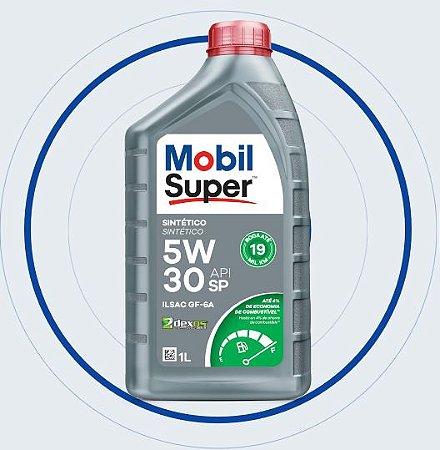 Mobil Super 5W30 SINTÉTICO 1 LT - Aprovação GM dexos1 (FORD / CHRYSLER) API SP GF-6