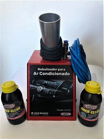 Nebulizador para AR CONDICIONADO AUTOMOTIVO - Grátis 02 limpezas Wynn´s Airco Clean + Cárdapio do Serviço