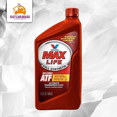 Óleo de Câmbio Valvoline ATF MAX LIFE 946 ml Dexron-VI/Mercon LV/MB NAG1/LT71141