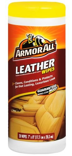 LENÇOS UMEDECIDOS PARA COURO - ARMOR ALL LEATHER 20 WIPES