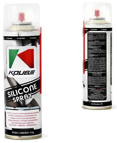 KOUBE Silicone Spray  200 ML - Industrial / Automotivo / Doméstico