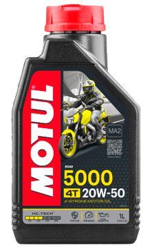 MOTUL 5000 20W-50 4T ÓLEO PARA MOTO 4-Stroke Motor Oil