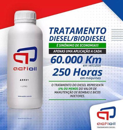 Actioil A550  Tratamento definitivo para Diesel 1L