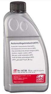 Febi Fluído 14738 ATF ZF 4/5 HP - VW AUDI LT 71141 Honda PSF-S KIA PSF-III AL4