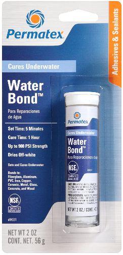 Epóxi para Reparações em Água para altas temperaturas Permatex Water Bond PX84331