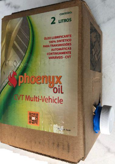 Óleo de Câmbio CVT Multi-Vehicle Phoenyx Oil Embalagem 2 Litros (NS-3 HFC-2 CVTF+4)