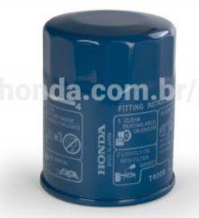 Filtro de óleo Original HONDA -  Accord, City, Civic, CR-V, Fit, HR-V