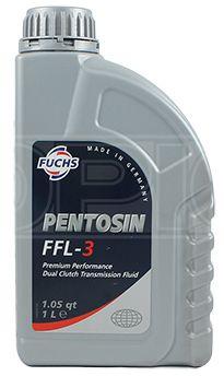 Lubrificante sintético para câmbio automático PENTOSIN FFL-3  DCTF 1 L - Aprovações ZF TE-ML Porsche