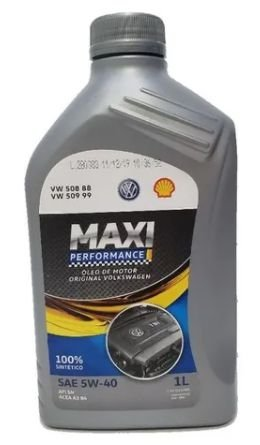 Óleo de motor VW MAXI PERFOMANCE 5W40 1L VW 508.88 509.99