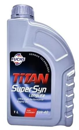 TITAN SuperSyn longlife 5W40 - MB Porsche VW 502 505 PSA