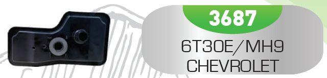 Filtro de Transmissão Automática 6T30/MH9 - CHEVROLET GM
