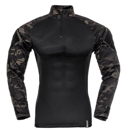 Combat Shirt Multicam Black Raptor Invictus