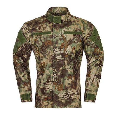 Gandola Tática Militar Armor Camuflada Kryptec Mandrake Invictus