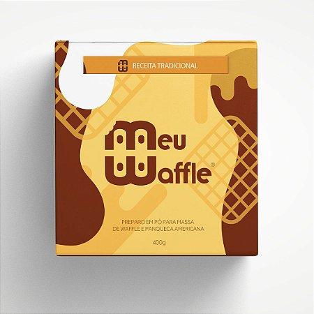 Preparo em pó para massa de Waffle e Panqueca Americana - Sabor TRADICIONAL