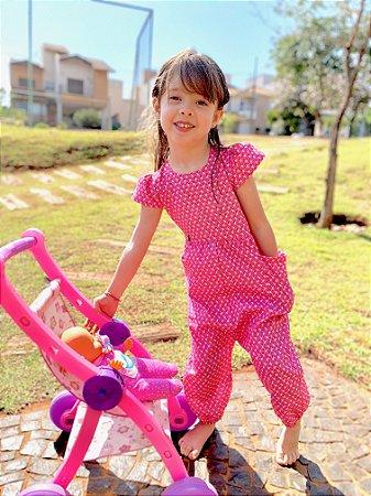 Macacão Stella Pink