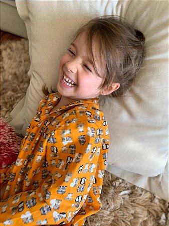 Pijama Mostarda Ursinhos