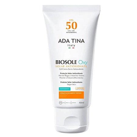 Protetor Solar Antipoluicao Ada Tina Biosole Oxy FPS 50