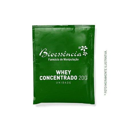 Whey Concentrado 20g Unidade