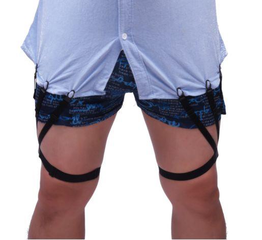 Suspensorio segura camisa modelo W