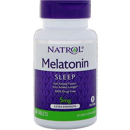 Melatonina 5mg Natrol (absorção rápida) - 60 Tabs