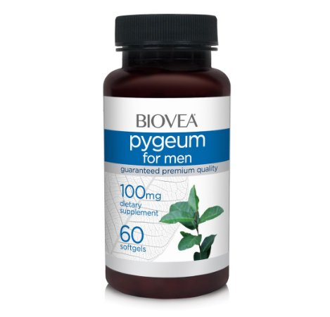 Pygeum P/ Homens 100mg (Saúde da Próstata) - 60 Softgels