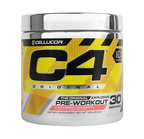C4 Extreme - 30 doses (c/ NO3 - nitrato de creatina) - 171grs