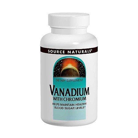 Vanádio com Cromo (controle de apetite e glicose) - 90 Tabs
