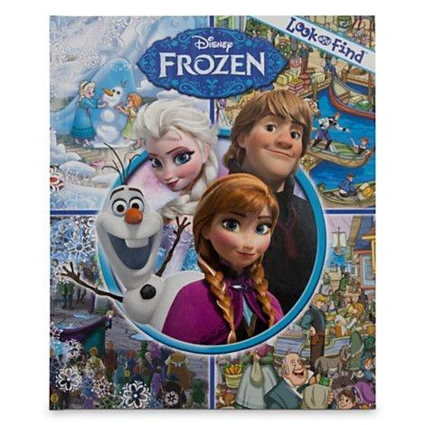 Livro de Procurar e Achar - Frozen