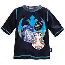 Camiseta Disney Store - Star Wars - Praia - Tamanho 5/6 Anos