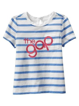 Camiseta GAP Infantil - Listrada