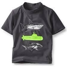 Camiseta Praia Carters  - UPF 50 - 1T